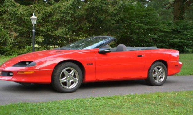 Modern Muscle:  1994 Chevrolet Camaro Z/28 Convertible – NOW $9,200 OBO