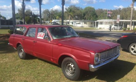 Red, White, and Turquoise:  1966 Dodge Dart Station Wagon – $6,150
