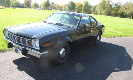 T5-Upgrade:  1976 AMC Hornet Hatchback 5-Speed – $6,500