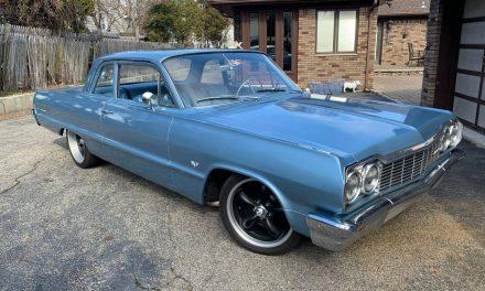 Sanitary:  1964 Chevrolet Bel Air Street Machine – $19,500 OBO