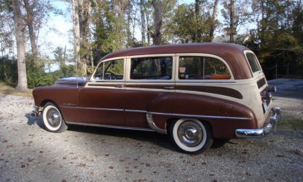Tin Woody:  1950 Pontiac Streamliner Deluxe Station Wagon – Sold!