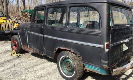 Tornado Equipped:  1961 Willys 4×4 Utility Wagon Project – Sold!