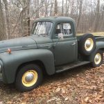 Restoration Started:  1952 International Harvester L110 Pickup Truck – $15,000