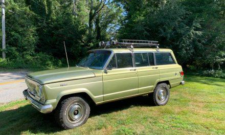 West Coast Ride:  1969 Jeep SJ Wagoneer – Sold!
