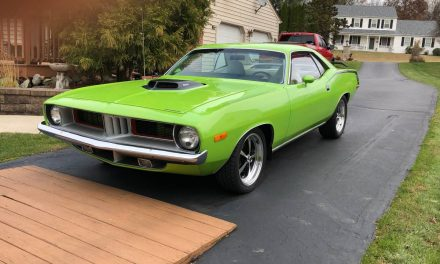 Yeah, Its Got a Hemi:  1973 Plymouth Barracuda Restomod – Sold?