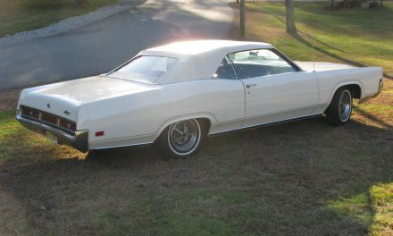 Original Or Two Owner: 1970 Mercury Marquis Convertible – SOLD!