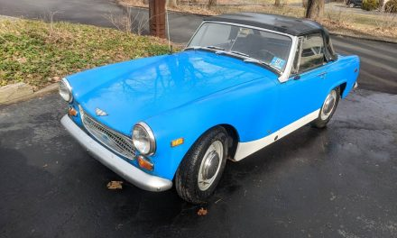 Must Be Towed:  1969 Austin Healey Sprite Mk IV – Sold!