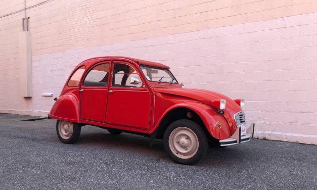 French Beetle: 1986 Citroën 2CV – $17,500