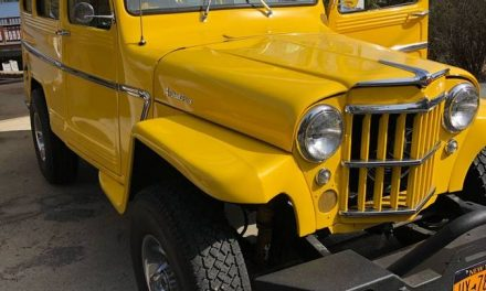 Big Foot Hunter:  1960 Willys Wagon Mild Custom – Sold!