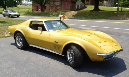 Ginger:  1971 Corvette C3 454/4-Speed Coupe – Sold!