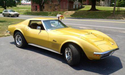 Ginger:  1971 Corvette C3 454/4-Speed Coupe – $40,000