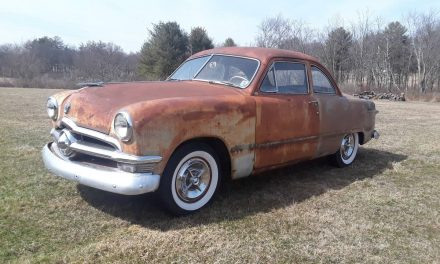 Rat Rod or Restore: 1950 Ford Custom Deluxe Club Coupe V8 – Sold!