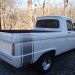 White Badass: 1965 Ford F-100 Short Bed Street Machine – $16,500