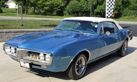 NEW! Award 36:  1967 Pontiac Firebird 400 Convertible – Sold!