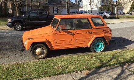 Orange Thing:  1974 Volkswagen Type 181 Thing – Sold!