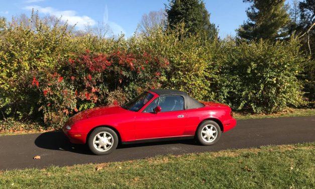 Real Survivor:  1990 Mazda NA MX 5 Miata 5-Speed – $8,000