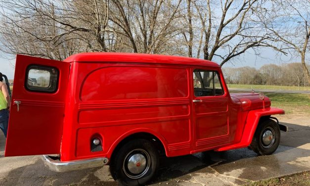 Numbers Matching:  1950 Willys Panel Wagon 4×2 – $31,800