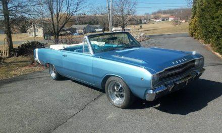 Cheaper Clone:  1968 Dodge Dart GTS Convertible Clone – SOLD!