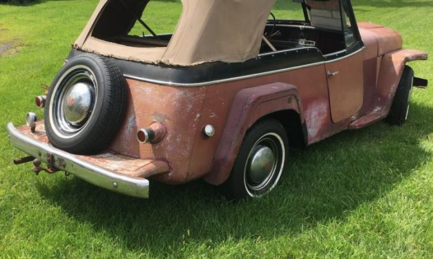 Side of the Road 22:  1950 Willys-Overland VJ-3 Jeepster – SOLD!