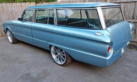 Roll Pan Rear: 1963 Ford Falcon Station Wagon Street Machine – $12,500