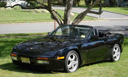 S2 Soft Top: 1990 Porsche 944 Cabriolet – Sold!