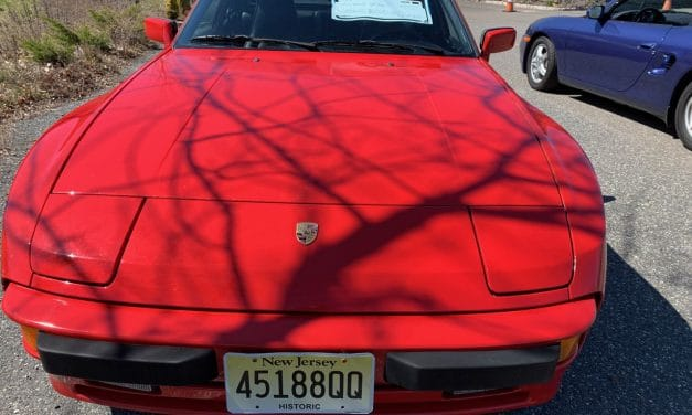 Side of the Road 23:  1985 Porsche 944 5-Speed – SOLD!