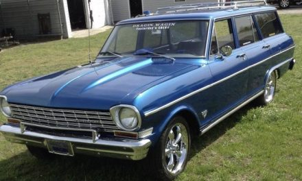Dragin' Wagin:  1964 Chevrolet Chevy II Station Wagon Street Machine – $15,000 OBO