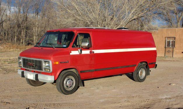Camper Conversion: 1995 GMC Vandura G3500 – $13,000