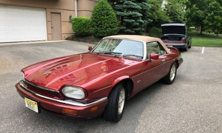 V12 Drop Top: 1994 Jaguar XJS Convertible – Sold!