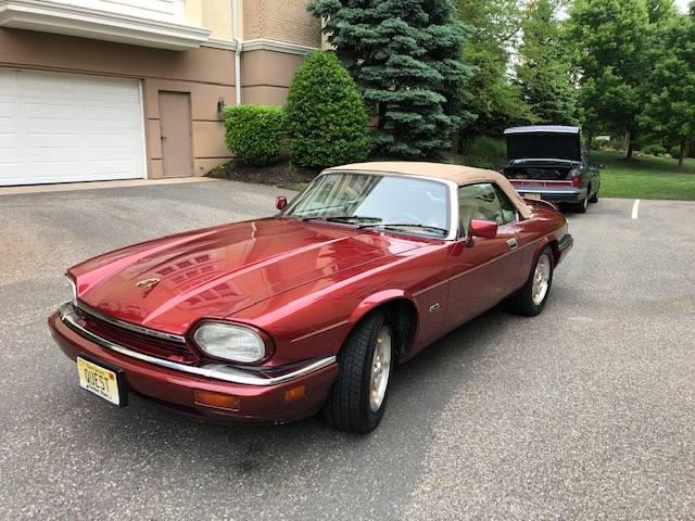 jaguar convertible front