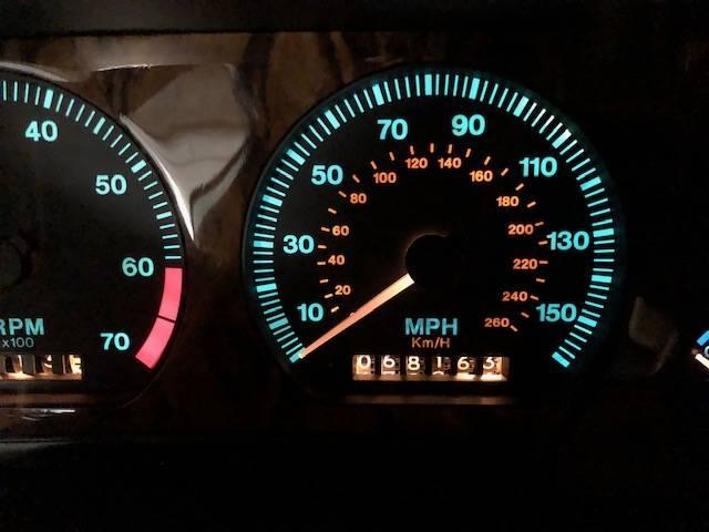 jaguar convertible odo