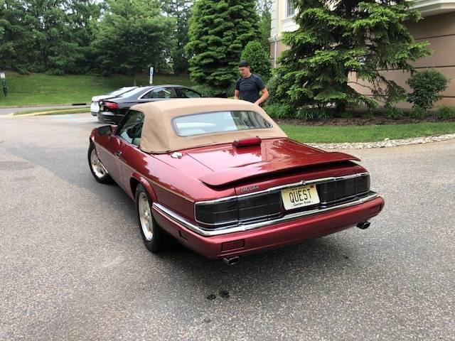 jaguar convertible rear 2