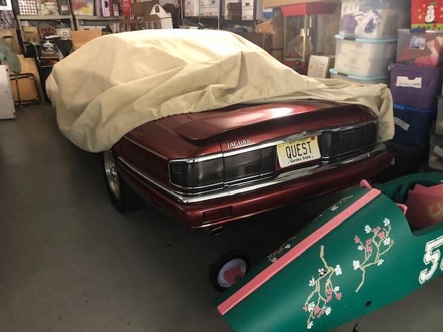 jaguar convertible rear