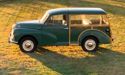 Perfect Patina:  1966 Morris Minor Traveler 1000 RHD – Sold?