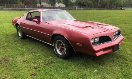 Anti-Peacock:  1977 Pontiac Firebird Formula 400 – Sold!