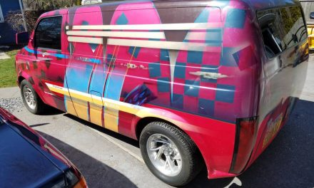 Boxed Wizard:  1985 Chevrolet Astro Custom Show Van – Sold!