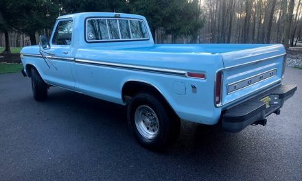 Horrific Hyperbole:  1978 Ford F-350 Camper Special – Sold!