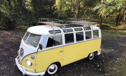 Holy Grail:  1964 Volkswagen Transporter 21 Window Samba – $38,500