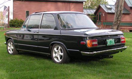 Rotisserie Restoration:  1974 BMW 2002 – $27,000
