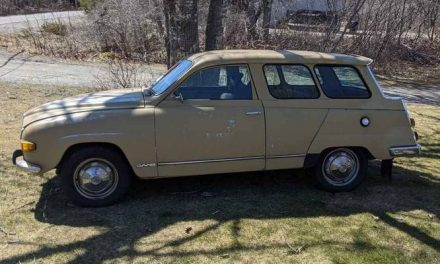 No Time Left For You:  1972 Saab 95 Wagon – Sold!