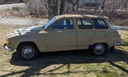 No Time Left For You:  1972 Saab 95 Wagon – $4,300