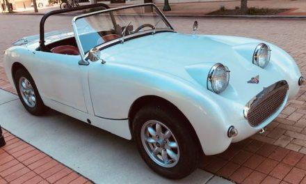 Spritely Sprite:  1961 Austin-Healey Mk 1 Bug Eye Sprite – Sold!
