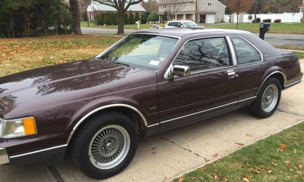 Brown is Beautiful: 1988 Lincoln Mark VII LSC – Sold!