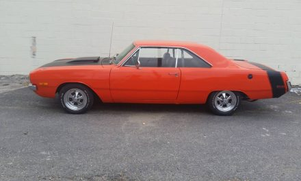Orange Crush:  1972 Dodge Dart Swinger Street Machine – Sold!