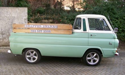 Little Green Wagon:  1968 Dodge A100 5-Window – $22,000 FIRM