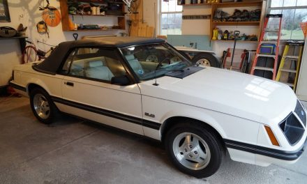 Four Lug Fox: 1983 Ford Mustang GLX 5.0 5-Speed Convertible – Sold!