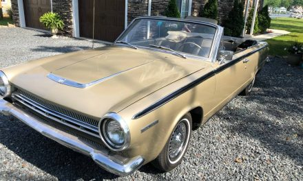 Golden Anniversary:  1964 Dodge Dart Convertible – STILL $10,900