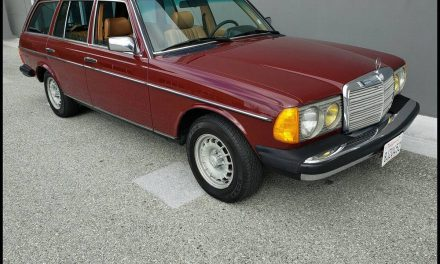 Don't Be Fooled 1: 1984 Mercedes Benz 300TD Wagon – $100,000