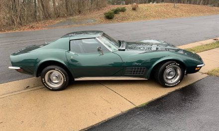 Driver Quality:  1971 Corvette C3 350/270 4-speed Coupe – Sold!