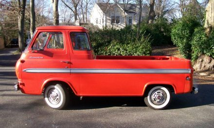 Daily Driver: 1965 Ford Econoline E100 Pickup – SOLD!